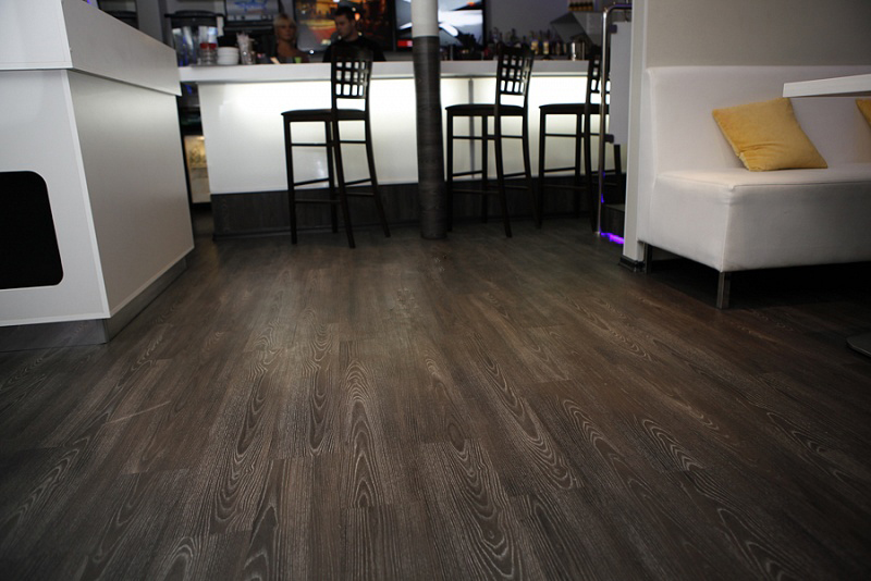 Плитка Contesse Floors Ash Black (Ясень темный)